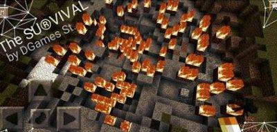 Карта The survival V.0.9 - The revelation - MCPE 0.11.0
