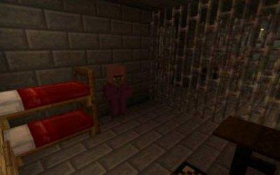 Карта Mined Prison для Minecraft Pocket Edition 0.11.0