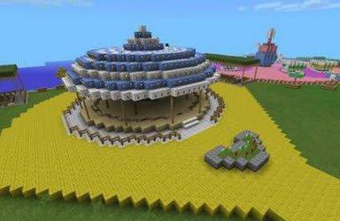 Карта DisnayLand для Minecraft PE 0.11.0