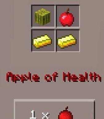 Мод Apple Potions для Minecraft PE 0.11.0