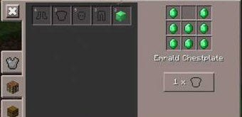 Мод More Armor v0.6 для Minecraft PE 0.11.0
