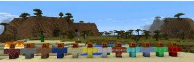Мод Golems PE Mod для Minecraft PE 0.11.0
