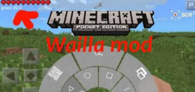 Мод Waila для Minecraft PE 0.11.0