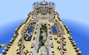 Карта Oasis of the Seas [Creation] для Minecraft PE 0.12.1
