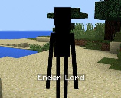 Мод Enderlord Mod для Minecraft PE 0.11.1