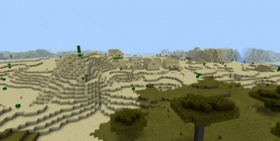 Сид Five Villages Nearby Spawn 0.12.1