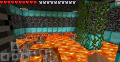 Карта 10х10 для Minecraft PE 0.12.1