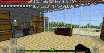 Карта Home с большим домом для Minecraft PE v0.12.x