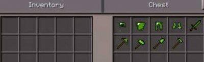 Мод Emerald Tools для Minecraft PE 0.11.1