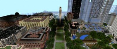 Карта E-Land для Minecraft PE