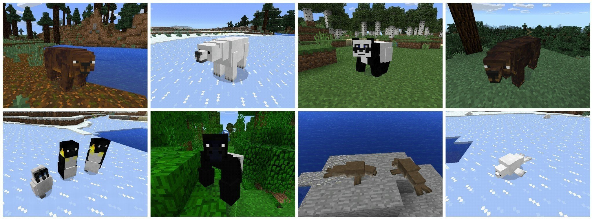 мод на животных в майнкрафт 0.16.0 #3