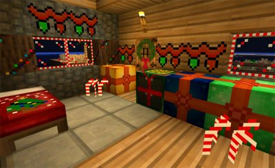"Шейдеры ""Fletchercraft Christmas"" [0.13.1]"