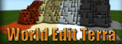 Мод World Edit Terra [0.14.0]