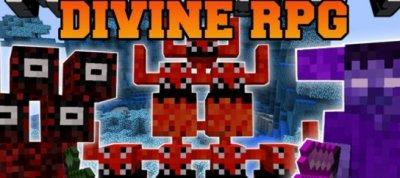 Мод Divine RPG [0.14.0]