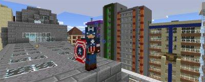 """Мод """"Капитан Америка"""" [0.14.0]"""