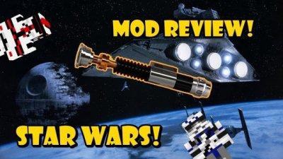Мод Звездные войны: Пробуждение силы для MCPE 0.14.0
