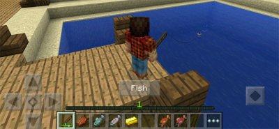 Карта Fishing Frenzy для MCPE 0.14.1