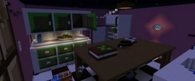 Карта Kitchen Hide-and-Seek для Minecraft PE 0.15.0