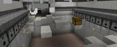 Карта Лаборатория для MCPE
