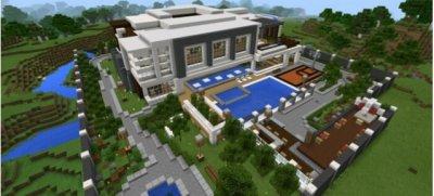 Карта Modern Mansion