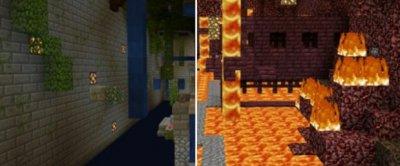 Карта Parkour of Elements для Minecraft PE