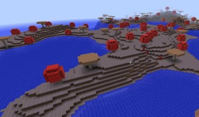 Сид Подводная крепость и грибной Биом 0.15.0