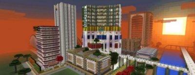 Карта Egaland City для Minecraft [0.15.0]
