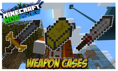 Мод Weapon Case Lott для Minecraft 1.8.9
