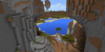 Лучший сид для Выживания для Minecraft PE 0.15.6