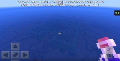 Сид на подводную крепость для Minecraft PE 0.16.0
