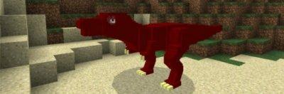 Мод Тирекс для Minecraft Pe 0.15.6