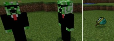 Мод Humanoid Creeper для MCPE 0.16.0