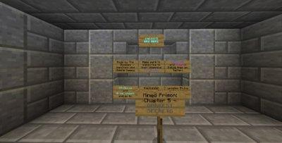 Карта Mined Prison: Dark Secrets (Глава 5)