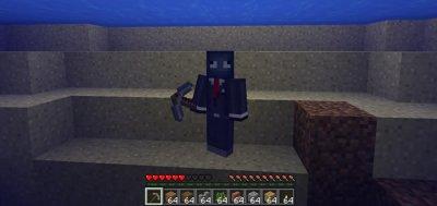 Аддон на выживание под водой для MCPE 0.16.0