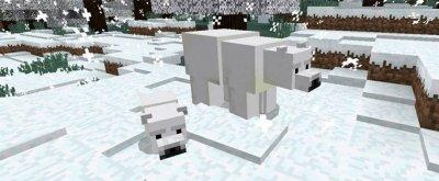 Мод Полярный медведь для Minecraft PE 0.16.0