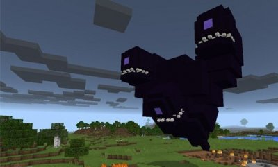 Мод Wither Storm для Minecraft Pe 0.16.0