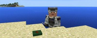 Мод Landmines для Minecraft Pe 0.16.0