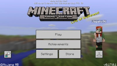 Скачать Minecraft Pocket Edition 1.0