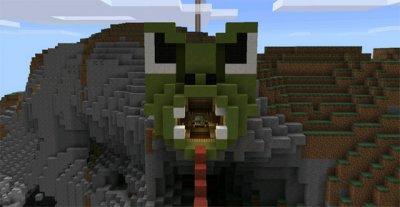 Паркур-карта Elytra для Minecraft PE 0.16.0