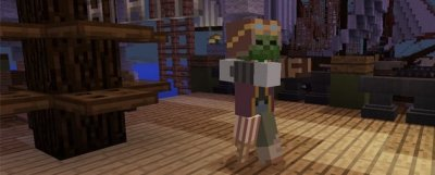 Мод на Зомби-Пиратов для Minecraft PE 0.16.0
