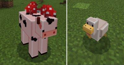 Текстуры Blocky Mobs для Minecraft PE 0.17.0/1.0