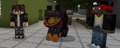 Мод на Добермана для Minecraft PE 0.17.0/1.0