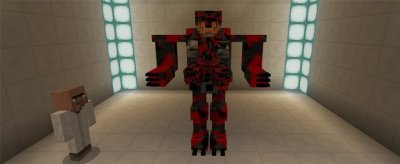 Мод Mech Suit для Minecraft Pe 0.17.0/1.0