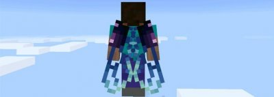 Мод 15 Custom Wings Elytra для MCPE 0.17.0/1.0