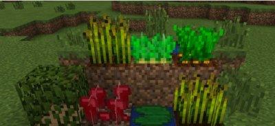 Текстуры Waving Plants для MCPE 1.0.0