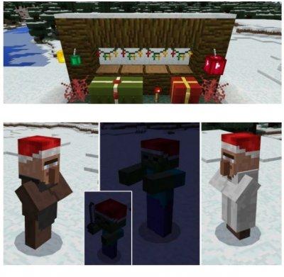 Текстуры Christmas Decor для MCPE 1.0.0