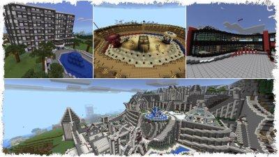 Сервер Minecraft PE Mid-Day 1.0