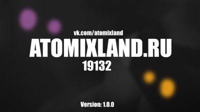 Лучший сервер MCPE - AtomixLand 1.0.0