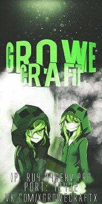 Growe Craft сервер MCPE 1.0.0