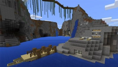 Карта Epic Cliffs для MCPE [Творчество]